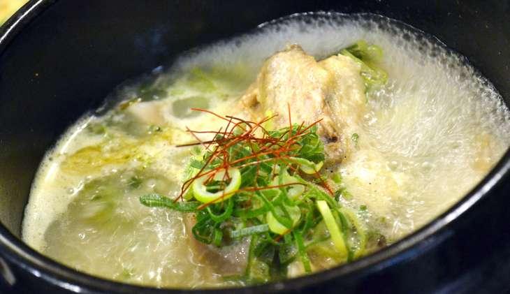 ヒルナンデス鶏パイタンねぎま鍋