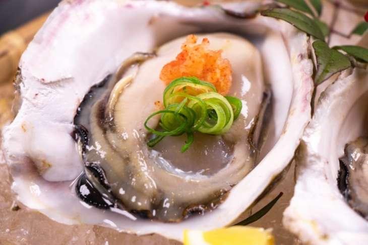 しまさん牡蠣のトマトポン酢