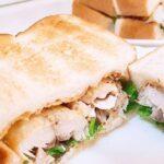 【男子ごはん】ポークリブサンドのレシピ。夏の絶品サンドイッチ(8月8日)