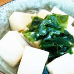 【あさイチ】わかめ豆腐のレシピ。市瀬悦子さんの簡単あえもの 1月18日【朝イチごはんだよ】
