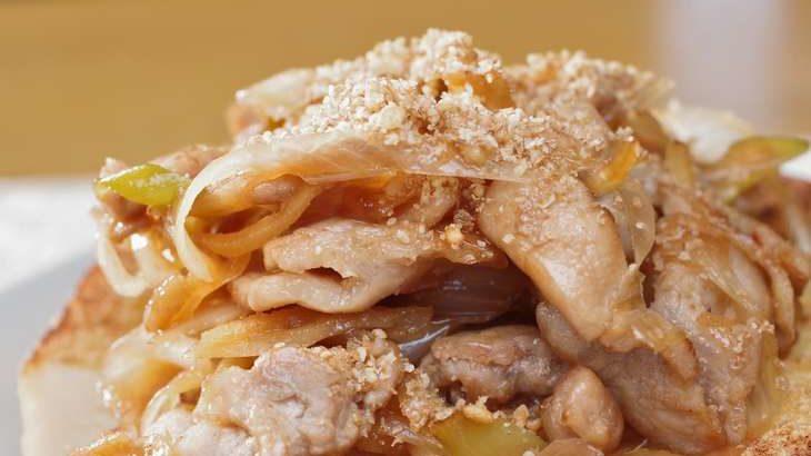 【家事ヤロウ】しょうが焼き豚丼のレシピ。黒木瞳さんが作る簡単朝食メニュー(3月23日)