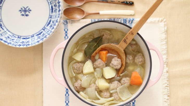 【沸騰ワード10】志麻さんのポトフのレシピ。特製鶏団子たっぷりのあったかスープ【伝説の家政婦しまさん】1月8日