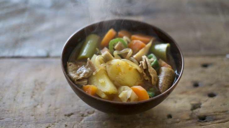 【男子ごはん】八丁味噌の豚汁のレシピ。昭和の洋食屋さん第6弾 1月17日