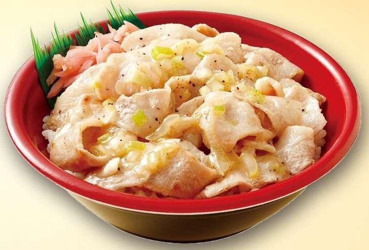 豚とろ焼き肉丼(ネギ塩レモンダレ)