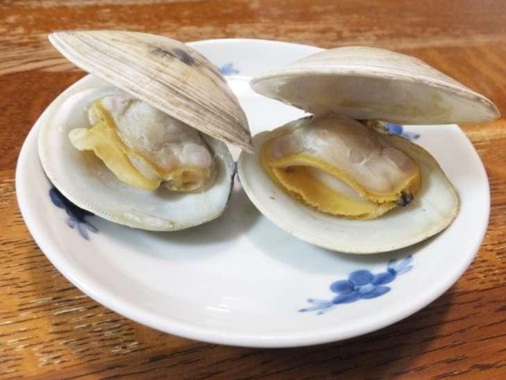 あさイチホンビノス貝