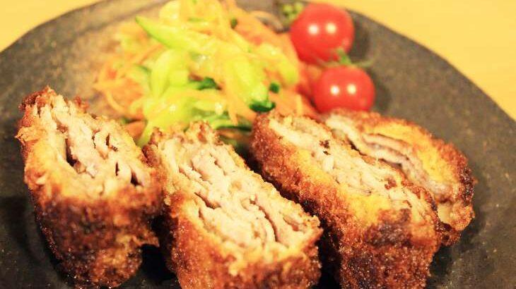【相葉マナブ】にんにくのミルフィーユカツのレシピ。ジャンボにんにくで絶品料理(7月11日)