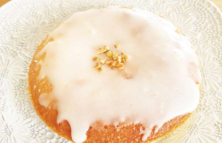 今日の料理レモンケーキ