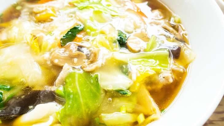 【グッとラック】梅蘭風サンラー焼きそばのレシピ。ギャル曽根さんの簡単アレンジランチ 2月11日