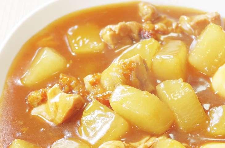ヒルナンデス白味噌カレー