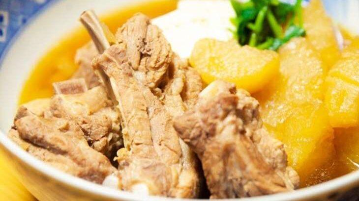 【ノンストップ】リブ大根のレシピ。笠原将弘シェフの絶品和食の作り方。2月1日