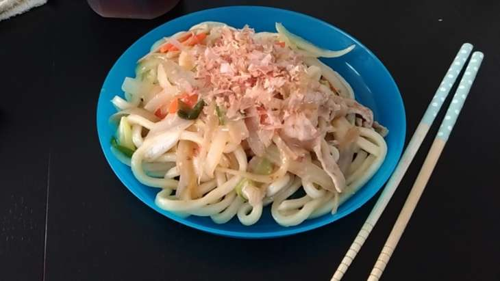 【グッとラック】うどんパッタイのレシピ。ギャル曽根さんのタイ風焼きそば!簡単アレンジランチ 2月25日