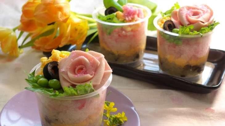 【ヒルナンデス】紅白なますで春のちらし寿司のレシピ。スー子さんの業務スーパー激安食材アレンジ料理(3月15日)