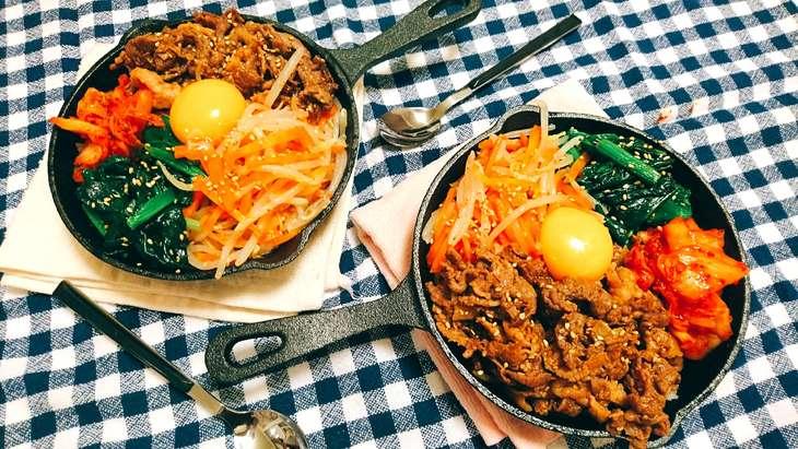 【ノンストップ】フライパンひとつで絶品ビビンバのレシピ。もやしの簡単アレンジ料理(3月31日)