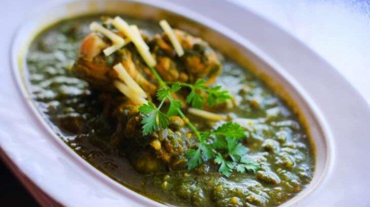 【土曜はナニする!?】絹揚げとほうれん草のスパイスカレーのレシピ。印度カリー子さんの本格スパイスカレー(3月6日)