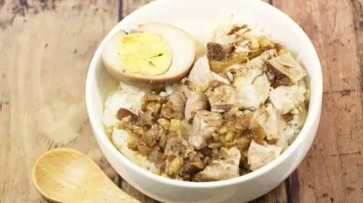 【土曜はナニする】つゆだくルーローハンのレシピ。有賀薫先生の簡単スープかけごはん(3月13日)