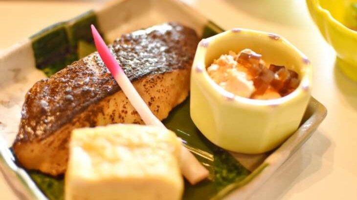【男子ごはん】サワラのみそ漬け焼きのレシピ。栗原心平さんの春の和定食2021(3月21日)