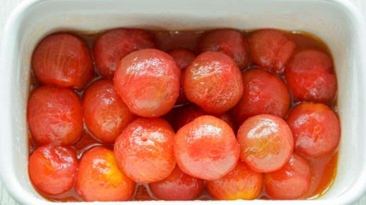 【あさイチ】ガラス容器でトマトのマリネのレシピ。ごはんさんの保存容器の活用術【クイズとくもり】(4月27日)