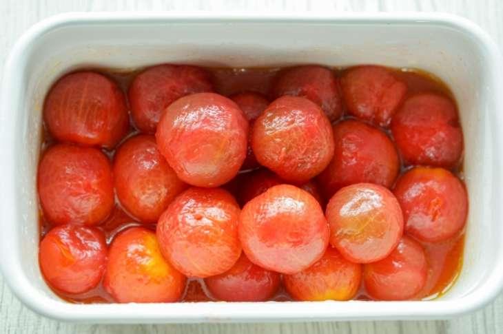 あさイチトマトのマリネ