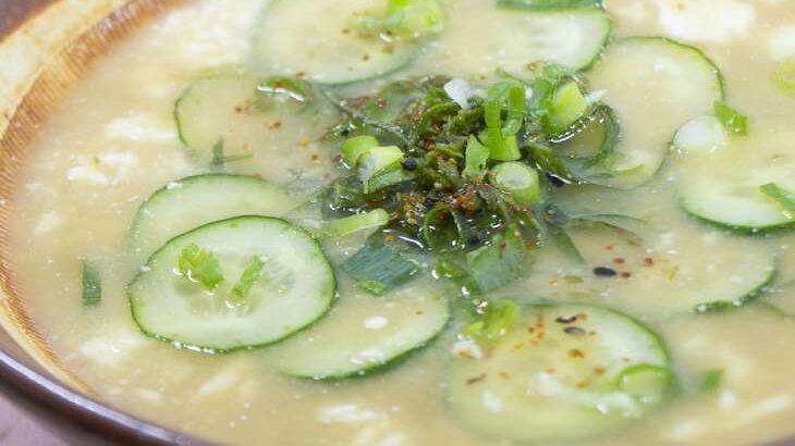【ラヴィット】さばの冷や汁風そうめんのレシピ。ロバート馬場さんの3分ちょっとクッキング(4月26日)