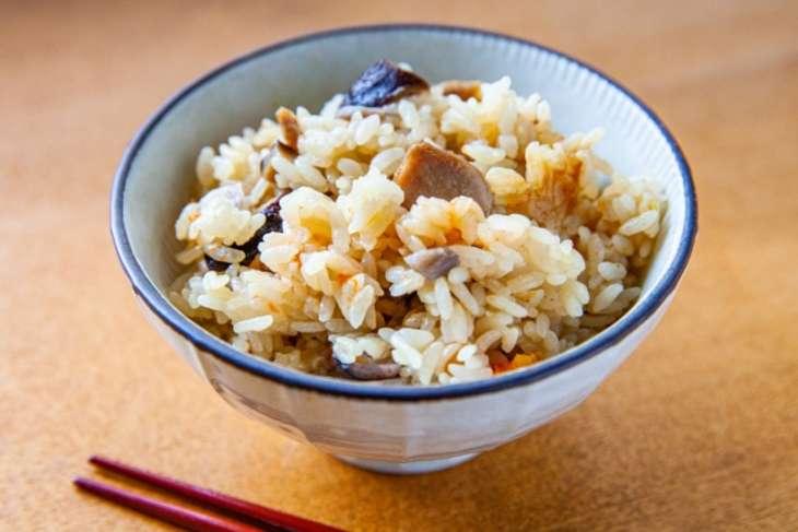 ヒルナンデス鶏と根菜の混ぜ込みご飯