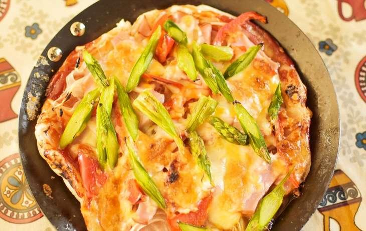 和田明日香アスパラチーズ焼き