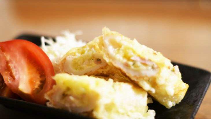 【ヒルナンデス】ポテサラちくわの磯辺焼きのレシピ。浜名ランチさんの新じゃが格安料理バトル(4月15日)