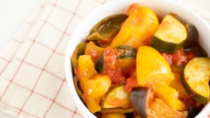 【相葉マナブ】柿とナスのラタトゥイユのレシピ。神奈川県川崎市の柿で旬の産地ごはん(10月17日)