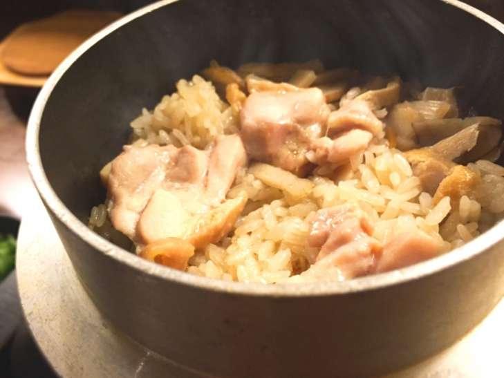 ヒルナンデス鶏ごぼうご飯