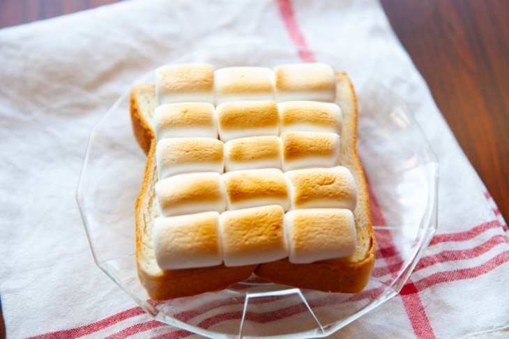 家事やろうマシュマロトースト