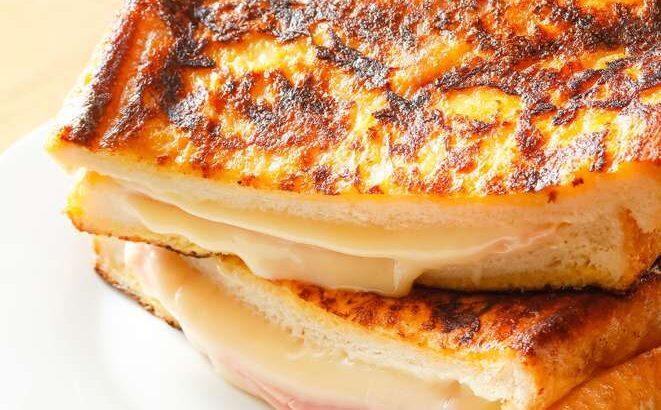 【スッキリ】ワンパントーストのレシピ。フライパンひとつで簡単!SNSで話題の韓国風朝食(4月12日)