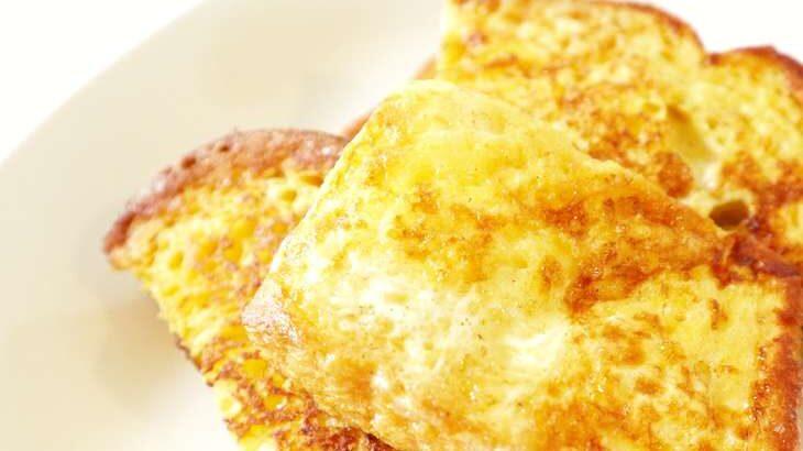 【青空レストラン】フレンチトーストのレシピ。湘南小麦のパンで(9月25日)
