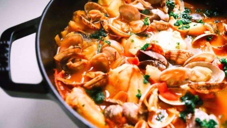 【めざまし8】あさりトマトのレシピ。和田明日香さんの時短料理(4月20日)