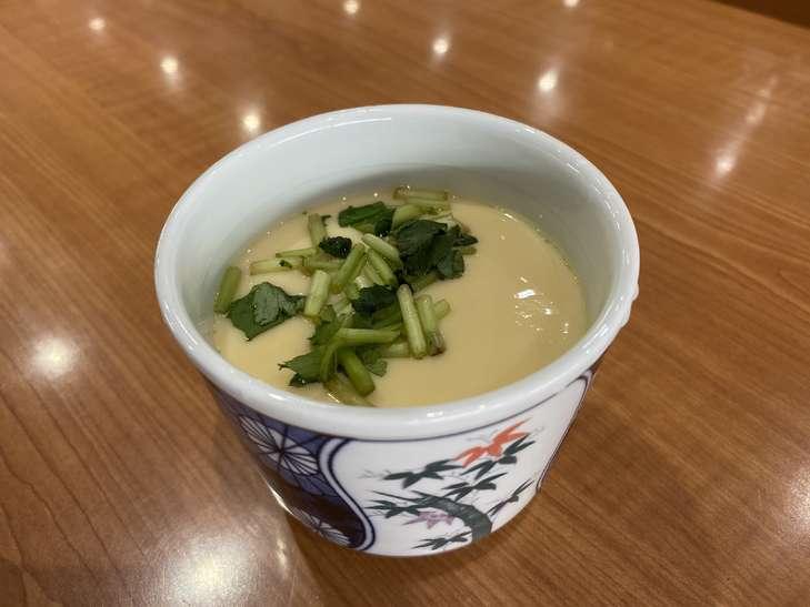 くら寿司 従業員イチ押しサイドメニュー 第1位! 特製茶碗蒸し