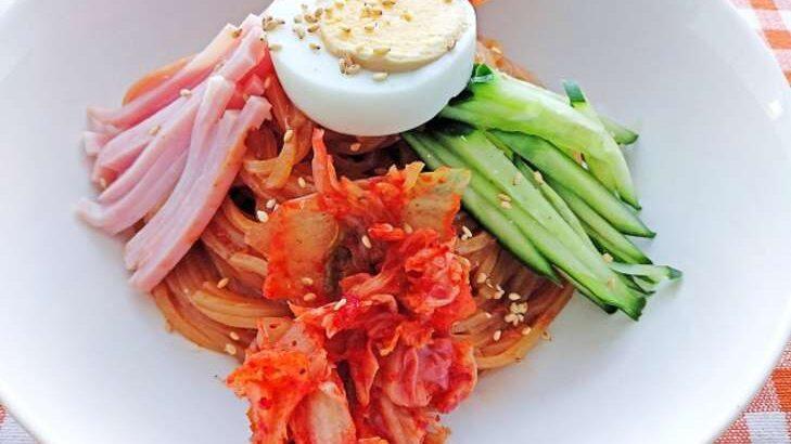 【ヒルナンデス】ビビンひやむぎのレシピ。スー子さんの業務スーパー活用料理(6月14日)