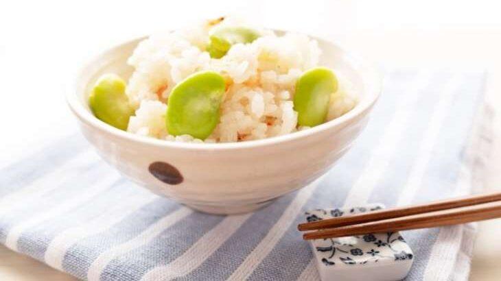 【あさイチ】ほたて入りそら豆ご飯のレシピ。堀江ひろ子さんの旬の炊き込みご飯(5月6日)