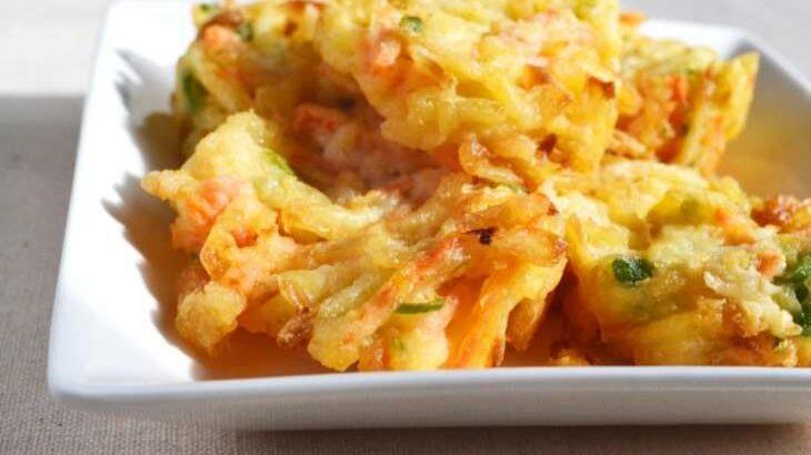 【ノンストップ】そら豆と生ハムのかき揚げのレシピ。笠原将弘シェフの本格和食(5月17日)