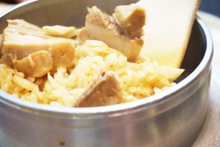 相葉まなぶアヒージョ釜飯のレシピ