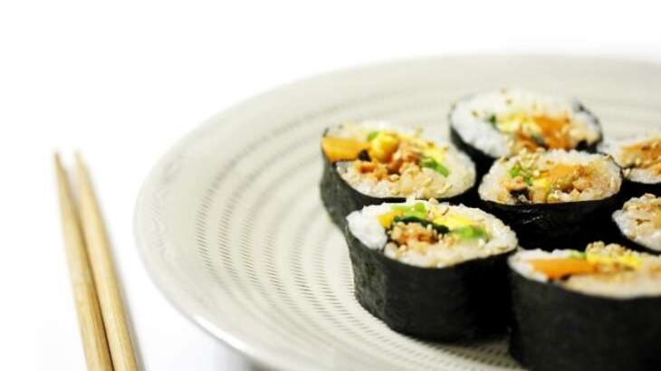 【家事ヤロウ】韓国風ハリッサ手巻き寿司のレシピ。カルディ調味料で激うまアレンジ料理(6月1日)