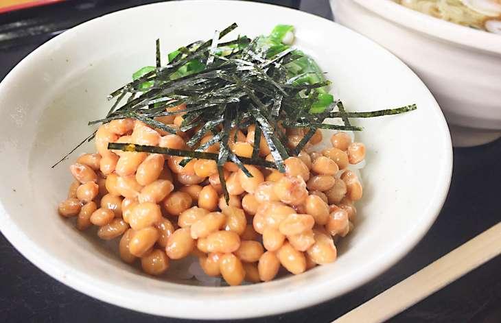 ラヴィット納豆うどん飯のレシピ見取り図
