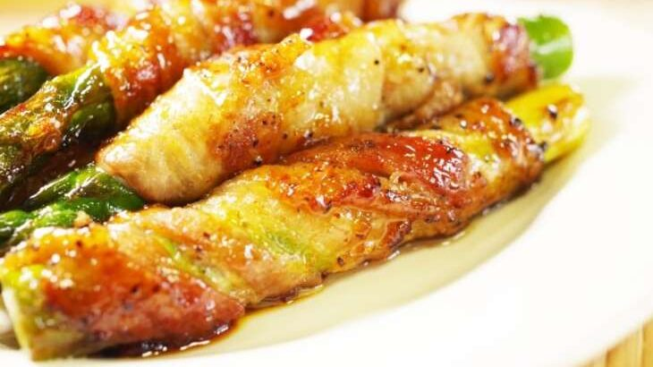 【ヒルナンデス】アスパラの豚肉巻きのレシピ。印度カリー子さんのスパイスレシピ(5月6日)