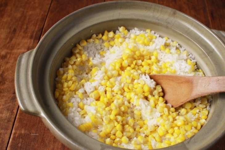 相葉まなぶ味噌バターコーン釜飯