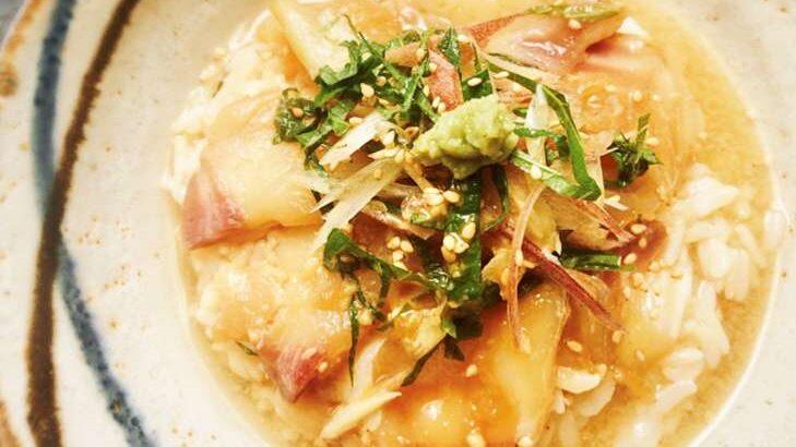 【家事ヤロウ】わさびごまドレッシングで鯛茶漬けのレシピ。カルディ調味料で激うまアレンジ料理(6月1日)