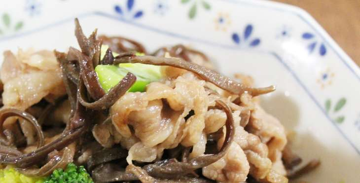 【ノンストップ】じゃがいもとキクラゲの塩きんぴらのレシピ。クラシルで話題のきくらげ料理(6月16日)