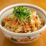 【あさイチ】新しょうがと桜えびの炊き込みご飯のレシピ。田口成子さんの簡単料理(6月7日)
