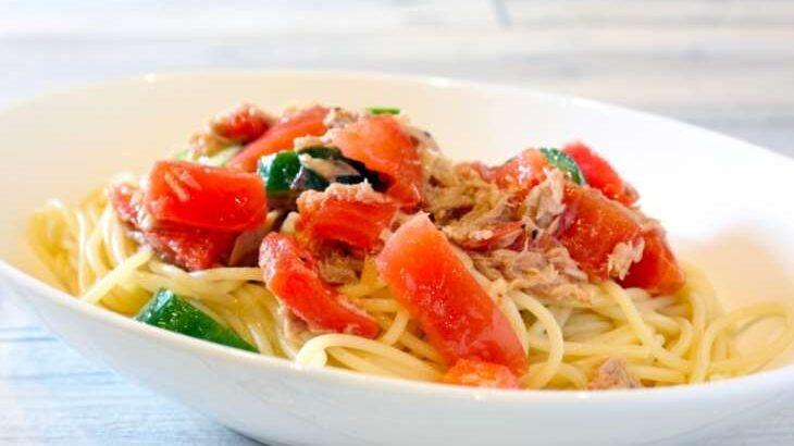 【あさイチ】ツナとトマトの冷製パスタのレシピ。片岡シェフの絶品イタリアン(6月24日)