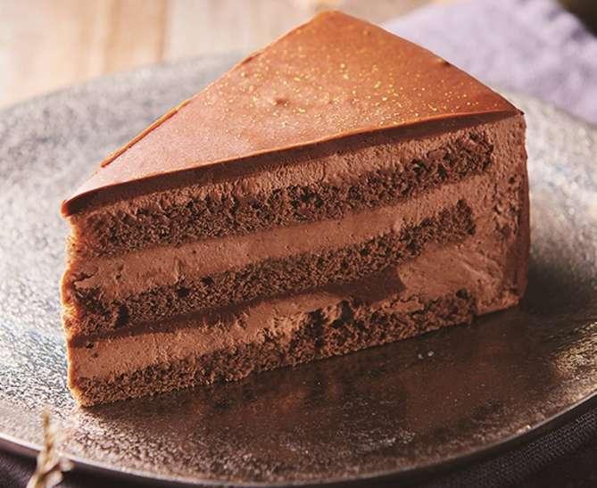 糖質86%カットの濃厚チョコショートケーキ