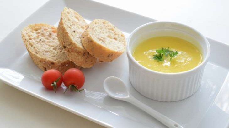 【あさイチ】はちみつ豆乳コーンスープ。グッチ裕三さんのレシピ