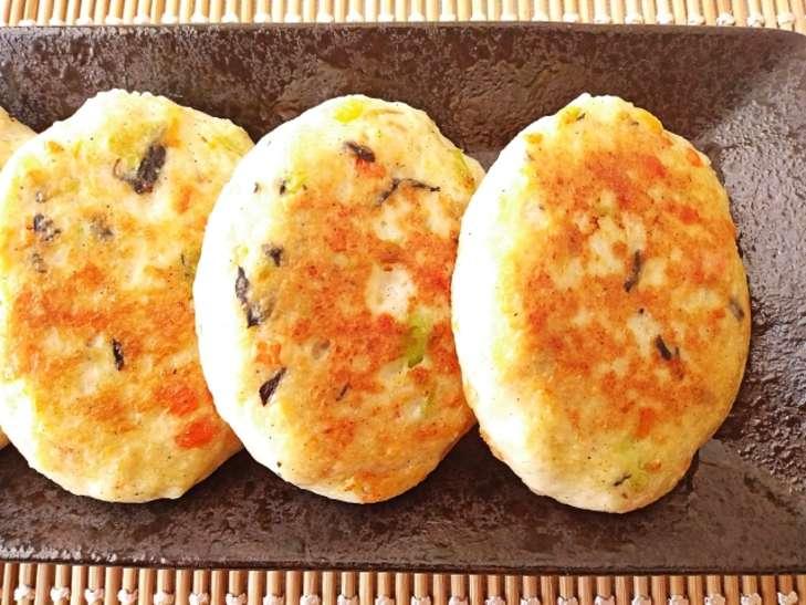 ノンストップオクラ豆腐ハンバーグ