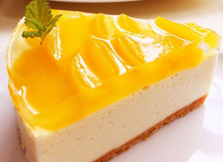 ノンストップ星のレアチーズケーキ