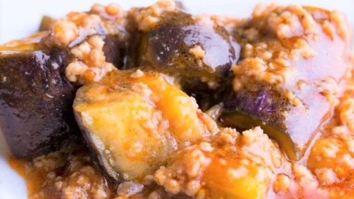 【土曜は何する】ナスの絶品キーマカレーのレシピ。印度カリー子さんのレンチンスパイスカレー【10分ティーチャー】(7月31日)